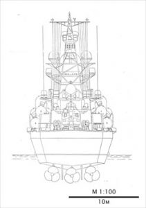 Nanuchka ship model plans