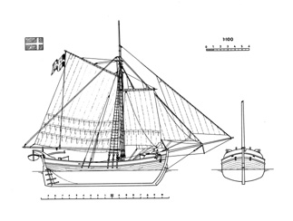 Sweden Yacht ship model plans