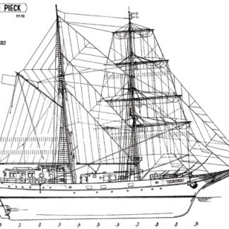 Wilhelm Pieck ship model plans