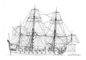 Wappen von Hamburg high quality ship model plans.