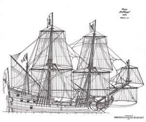 Fleute Derfflinger ship model plans