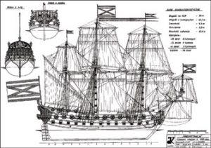 Russian Goto Predestenazia ship model plans