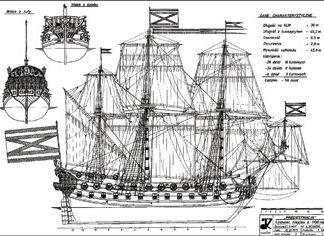 Russian Goto Predestenazia ship model plans