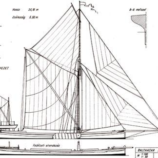 Balthasar sail boat ship model plans