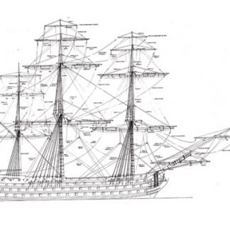 Santisima Trinidad 1769 battle ship model plans