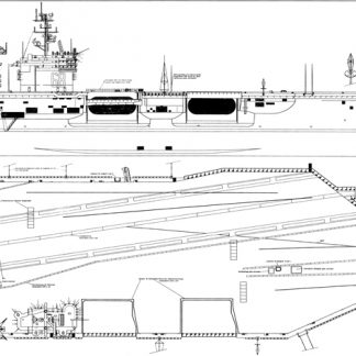USS Nimitz (CVN-68) ship model plans
