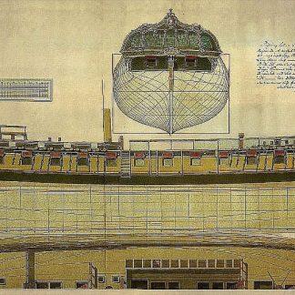 6th Rate Ship Frigate Venus 1783 ship model plans