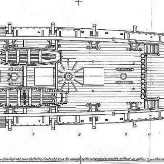 Bomb Ketch Cacafuego 1700 ship model plans
