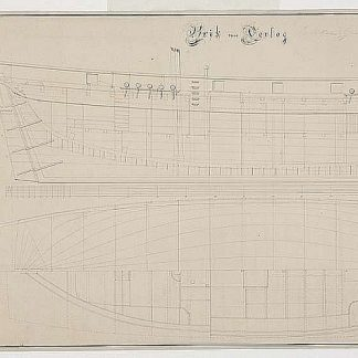 Brig De Gier 1796 ship model plans