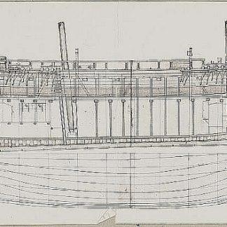 Brig Echo 1789 ship model plans