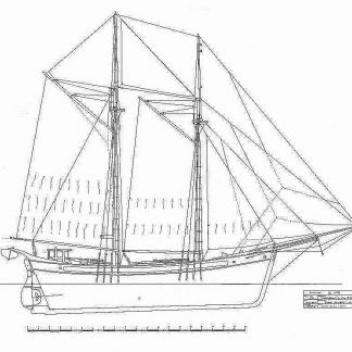 Brig Far Barcelona ship model plans