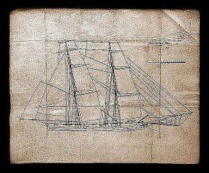 Brig Oneida 1809 ship model plans