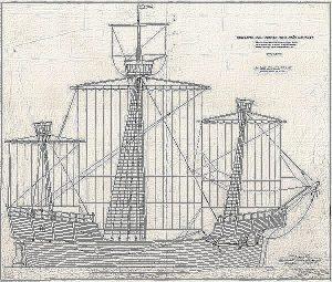 Carrack Holk ship model plans