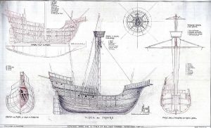 Carrack Victoria 1519 ship model plans