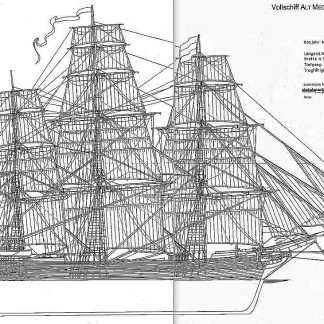 Clipper Alt Mecklenburg 1856 ship model plans