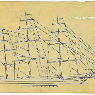 Clipper Challenge 1851 ship model plans
