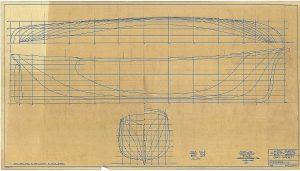 Clipper David Crocket 1853 ship model plans