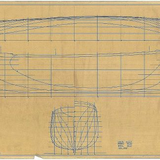 Clipper David Crocket 1853 ship model plans