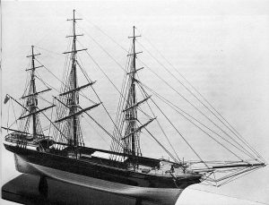 Clipper Stornoway 1850 ship model plans
