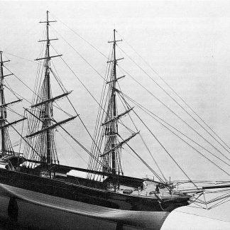Clipper Stornoway 1850 ship model plans