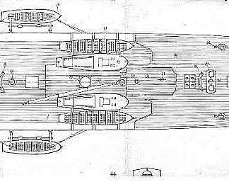Clipper Training Vessel Amerigo Vespucci 1931 ship model plans