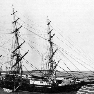 Clipper Witch Of The Wave 1851 ship model plans
