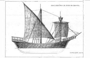 Cocca (Spanish) XIIIc ship model plans