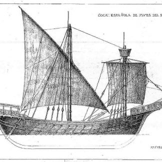 Cocca (Spanish) XIIIc ship model plans