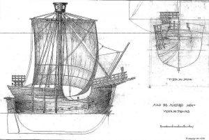 Cog De Mataro 1450 ship model plans