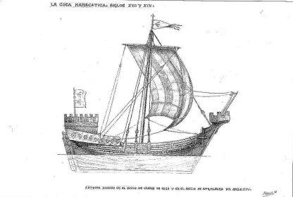 Cog (Hansa) XIIIc ship model plans