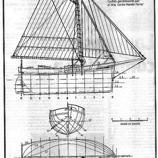 Cutter Luisito 1873 ship model plans