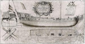 Fluit Transport Jagt 1770-1803 Holland ship model plans