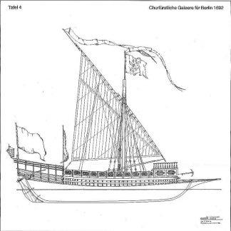 Galley Berlin 1692 ship model plans