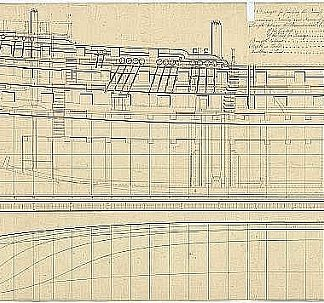 Indiaman East Ardent 1796 ship model plans