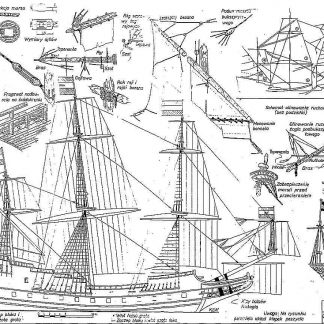 Indiaman East Batavia 1628 ship model plans