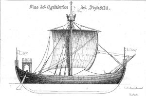Nao Del Cantabrico XIIIc ship model plans