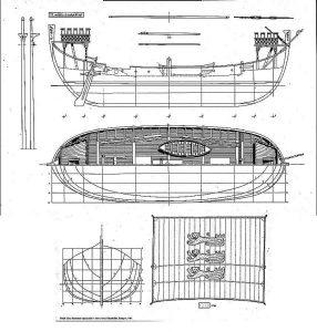 Nef Sandwich XIIc ship model plans