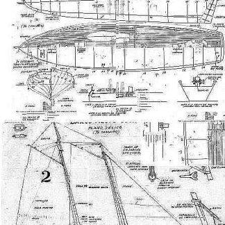 Pilot Boat 1850 ship model plans