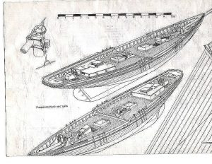Schooner Fishing Benjamin W Latham 1902 ship model plans