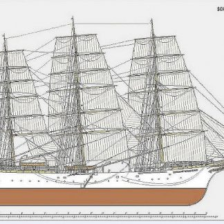 Training Ship Deutschland 1927 ship model plans