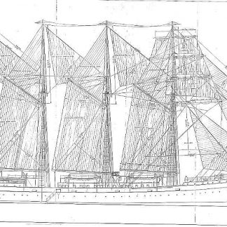 Training Vessel Js Elcano 1927 ship model plans