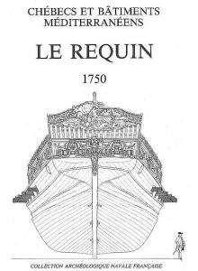 Xebec Le Requin 1750 ship model plans
