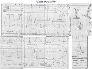 Yacht Armed Great Yacht - Doro 1679 ship model plans