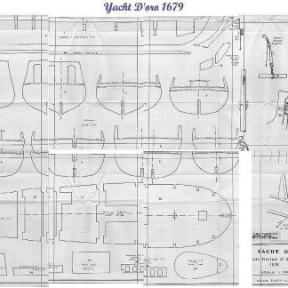 Yacht Armed Great Yacht - Doro 1679 ship model plans