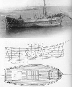Barge Barcazul Din Mangalia ship model plans