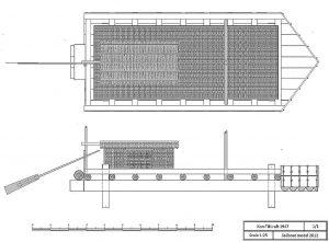 Barge Kon-Tiki 1947 ship model plans
