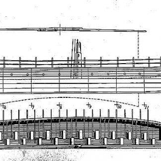 Bireme (Greek) Bc VIIc ship model plans