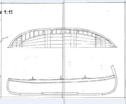 Boat Gozzo Ligure ship model plans
