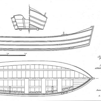 Boat Juana Y Jose XXc ship model plans