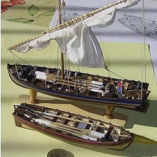 Boat Lifeboat Santissima Trinidad ship model plans